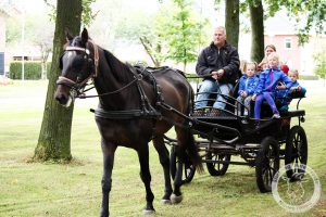 Op de Open (doe) dag zal er ook een Paard en Wagen zijn!